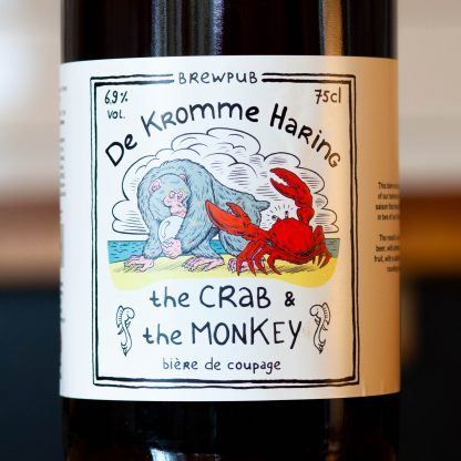 De Kromme Haring The Crab & The Monkey  0.75 ltr