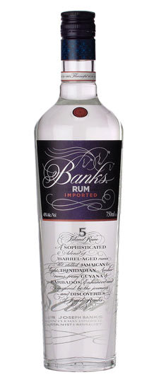 Banks Blanca rum 5 years  0.7 ltr