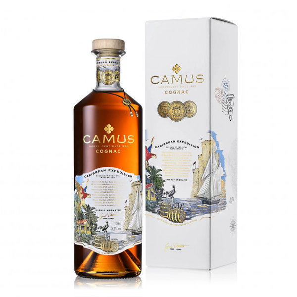 Camus Carribbean expedition  0.7 ltr