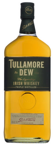 Tullamore Dew Whiskey 1.0 ltr