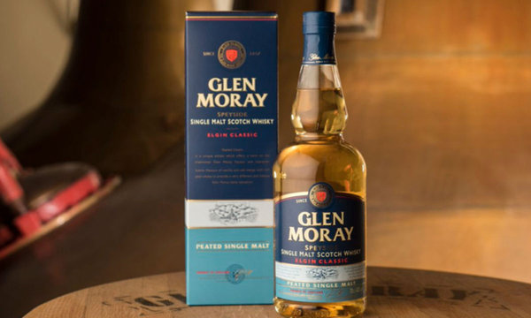 Glen Moray Peated Single Malt 0.7 ltr