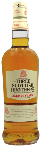 Three Brothers 20 years Single Grain  0.7 ltr
